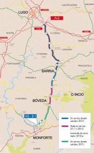 corredor Lugo-Monforte